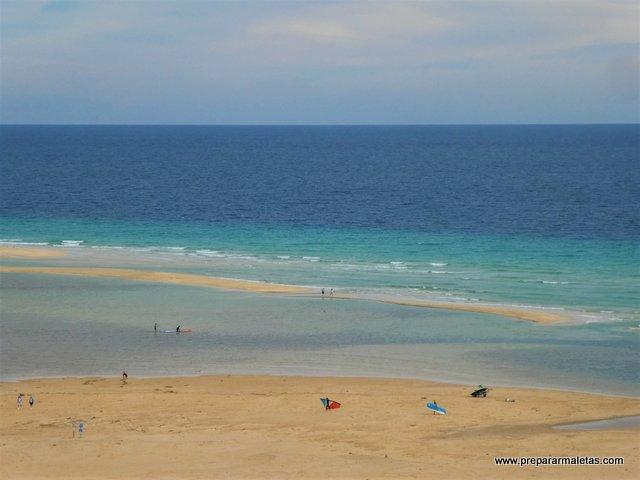 playas de postal que ver en Fuerteventura