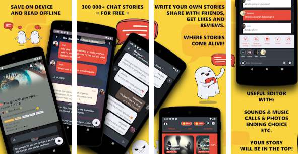 Scary Love Chat Stories Mod Apk