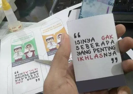 Parenting Blogger Medan: Mengelola Uang Salam Tempel