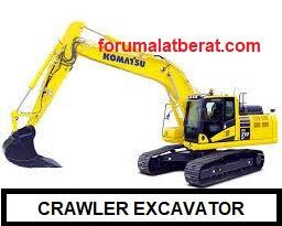 jenis excavator dan fungsinya