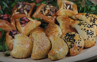 Small pies (Manaeish) or Fatayer Recipe