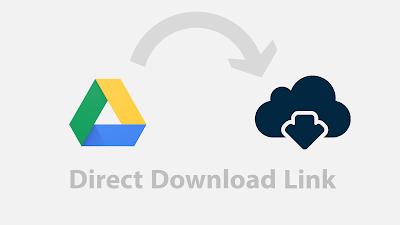 Google drive direct download link generator