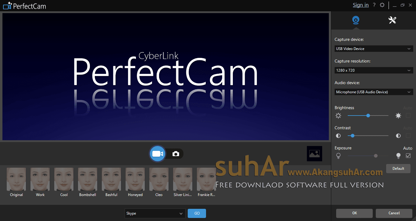Download CyberLink PerfectCam Premium full version