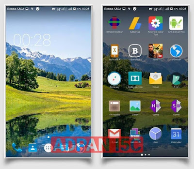 Custom Rom Xperia Advan I5c Spreadtrum