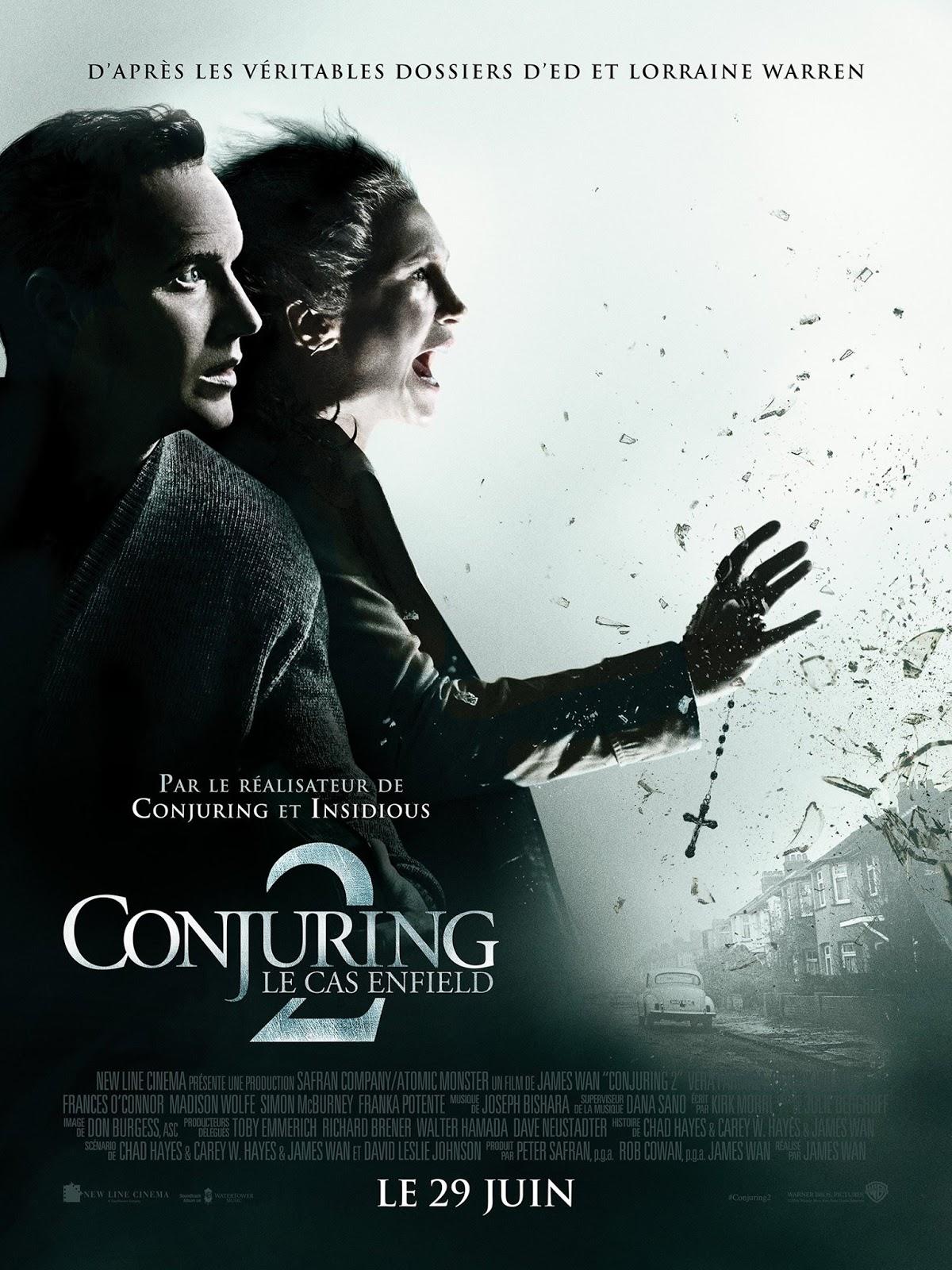 El Conjuro 2 (2016) [DVDRip][Subtitulada] [1 Link] [MEGA]