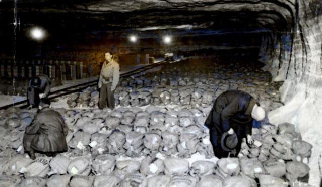 Harta peninggalan Nazi dalam lombong garam