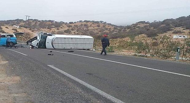 اكادير… مصرع شخص و إصابة آخرين في حادثة سير خطيرة