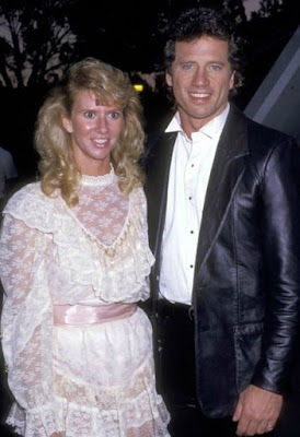Kathy Wopat's husband Tom with  Vickie Allen