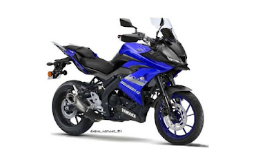 Modifikasi Yamaha R15 v3 menjadi model touring