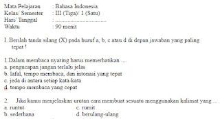 Soal-UAS-UKK-Bahasa-Indonesia-Kelas-3-SD-Semester-1