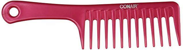 Extra wide detangling comb