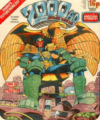 2000 AD Prog 204, Judge Dredd