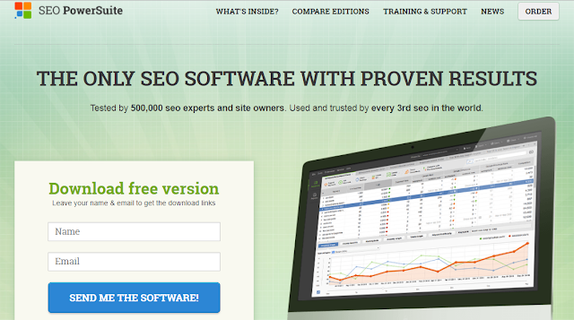 SEO Power Suite, A Search Engine Optimization Software