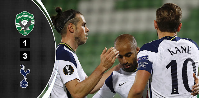 Ludogorets Razgrad vs Tottenham Highlights