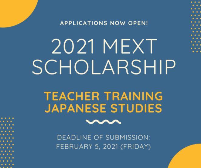 Study in Japan: 2021 MEXT scholarship programs