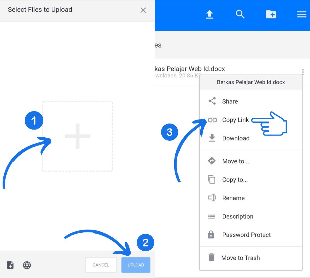 Cara Membuat Direct Link Mediafire