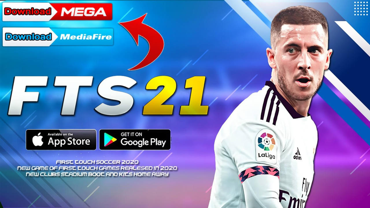 Download First Touch Soccer 2021 (FTS21) For Android Best Graphics Offline Size 300MB