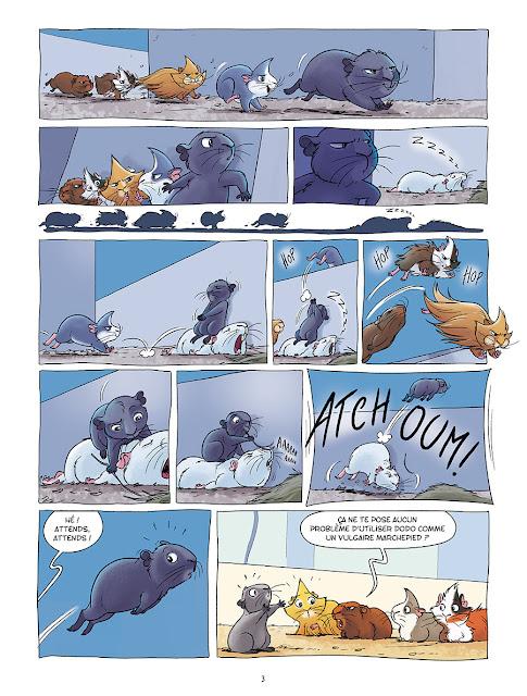 Les cochons dingues tome 2 aux editions Delcourt page 3