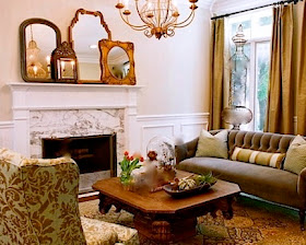 Feng shui in interior design - living room