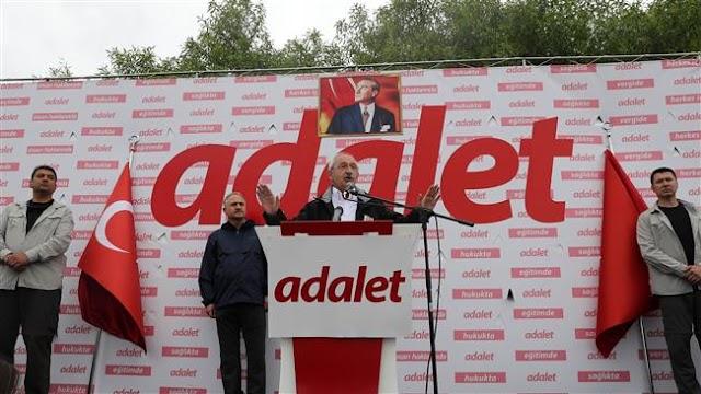 Republican People's Party (CHP) leader Kemal Kilicdaroglu challenges President Recep Tayyip Erdogan to resign