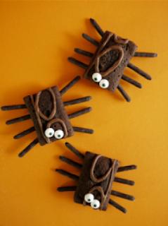 Friandises Sucrées d'Halloween - SANS CUISSON