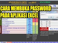 Cara Membuka Password di Aplikasi Excel dengan Mudah dan Cepat