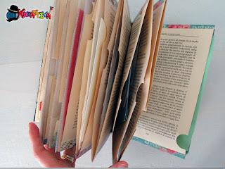 tasche multi uso con un libro