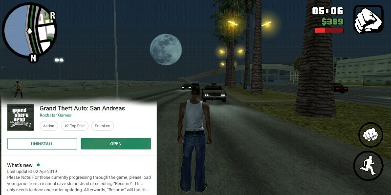 GTA san andreas latest 2.0 by gaming guruji blog