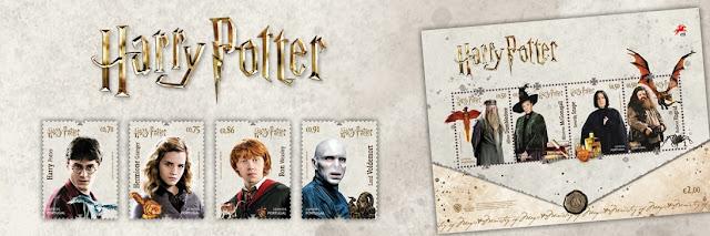 Correios de Portugal lançam coleção de selos de 'Harry Potter' | Ordem da Fênix Brasileira