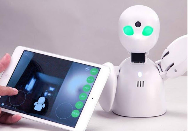 When sick, students will be able to send robots to class instead, make notes