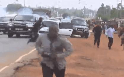 Breaking: Governor Uzodima escapes death by chance as gun men attack his convoy(Video)