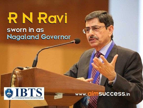 R N Ravi sworn in as Nagaland Governor