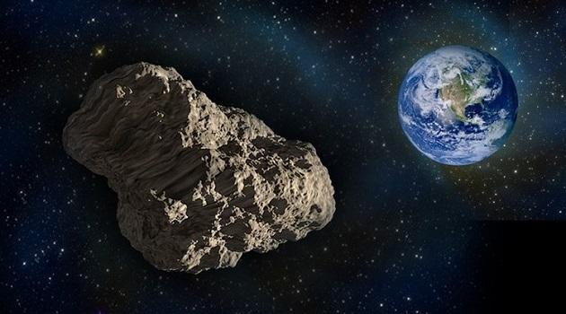 NASA mostra 5 asteroides com risco de colisão em 2017