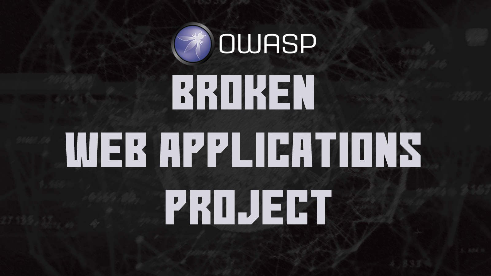 Broken Web Applications Project - A Virtual Machine For Web