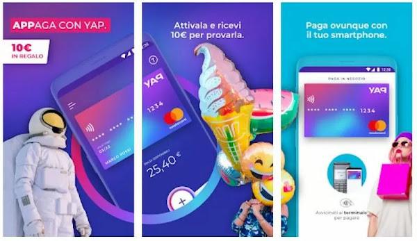 Yap: 10€ di bonus + 45€ invitando amici Yap-10-euro-gratis-app