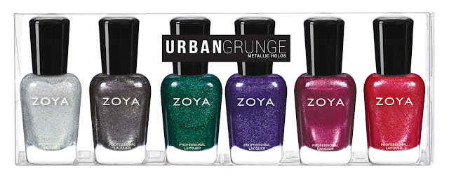 ZOYA - URBAN GRUNGE FALL 2016 COLLECTION