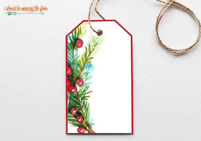 Blank Gift Tags
