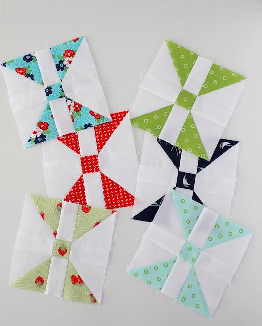 Diamond Panes quilt blocks Patchwork Quilt Along