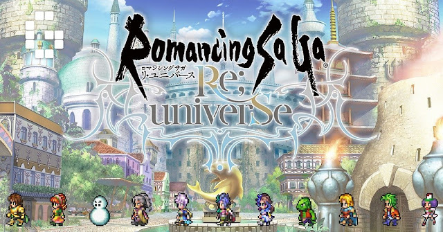 Square Enix abre pré-registro do RPG gratuito Romancing SaGa Re;univerSe no Android
