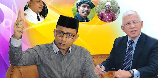 Jihar News, Dihina Oknum Guru, Ternyata Bankir Dunia Adnan Ganto Sampai Senator Haji Uma Besar Di Buloh Blang Ara