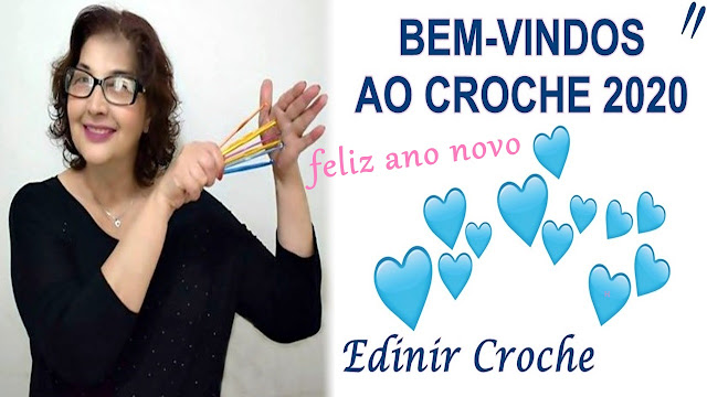 CROCHE 2020 EDINIR CROCHE CURSO AMIGURUMI GOOGLE PINTEREST YOUTUBE INSTAGRAM FACEBOOK