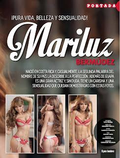 Mariluz Bermudez en Revista Hombre Agosto 2013   imagenes
