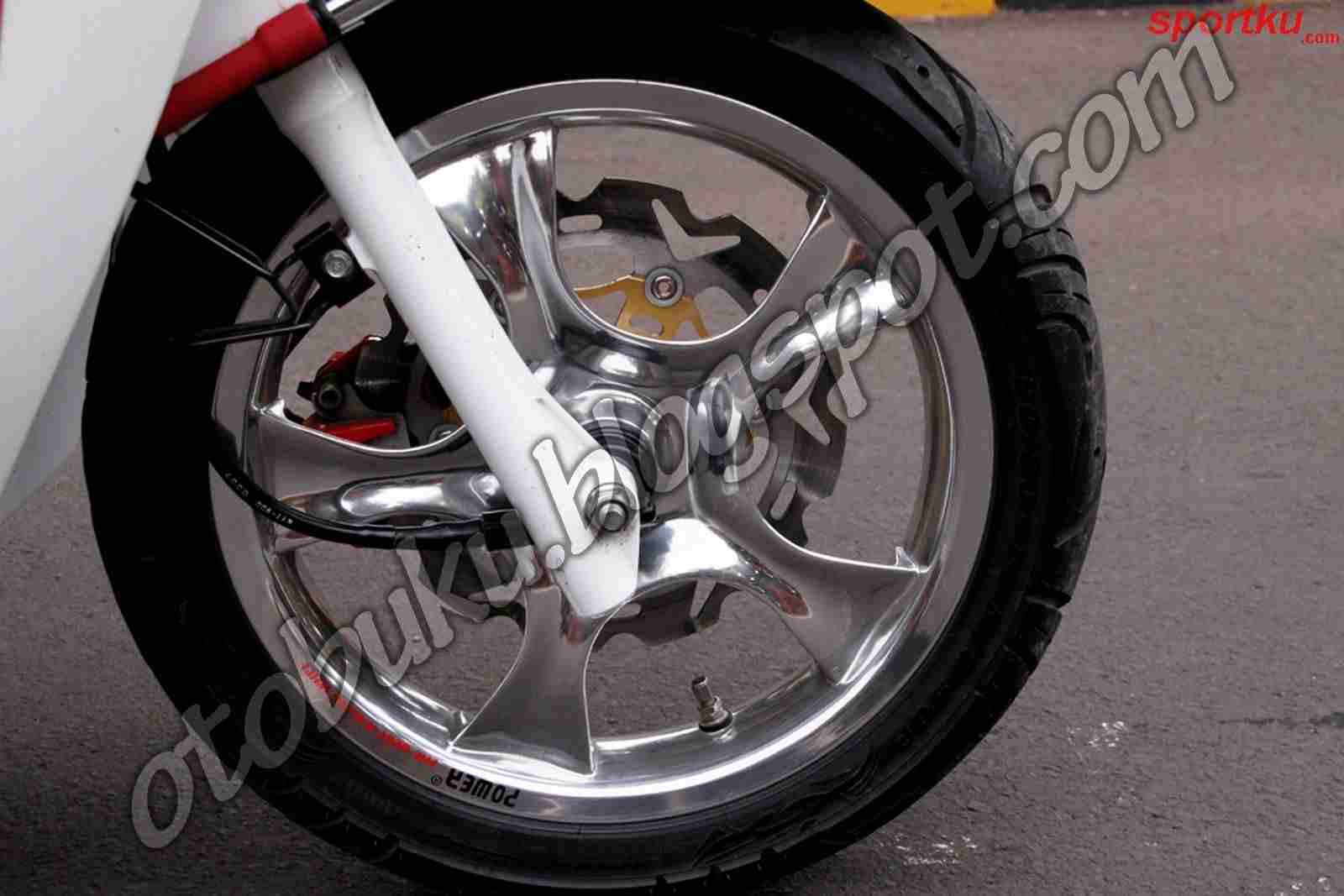 CHAOTIC Cara Modifikasi Motor Matic Lowrider Dan Daftar Harga Sperpat