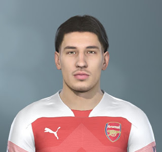 PES 2019 Faces Héctor Bellerín by Jarray & The White Demon
