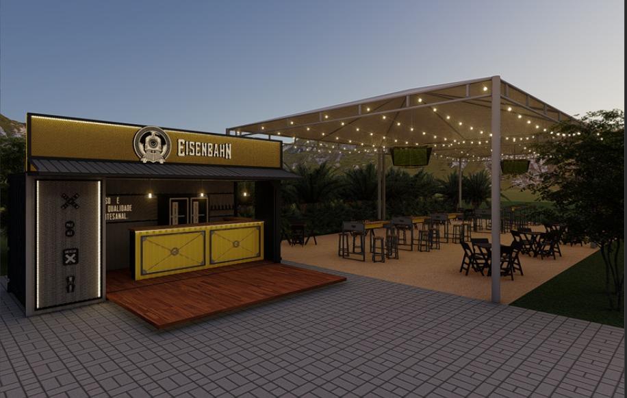 Hot Beach inaugura Eisenbahn Beer Place, choperia da Heineken