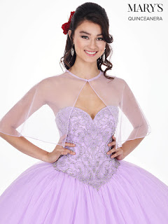 Lilac color Ball Gown Dress Front Design