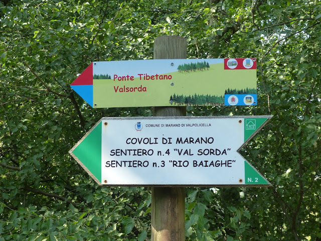 Ponte Tibetano della val Sorda - Gite e vacanze in Veneto