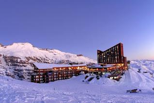 Valle Nevado Ski resort, Chile.