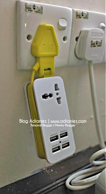 Penebusan Yang Berbaloi | Pineng Extension Socket With 4 USB Ports