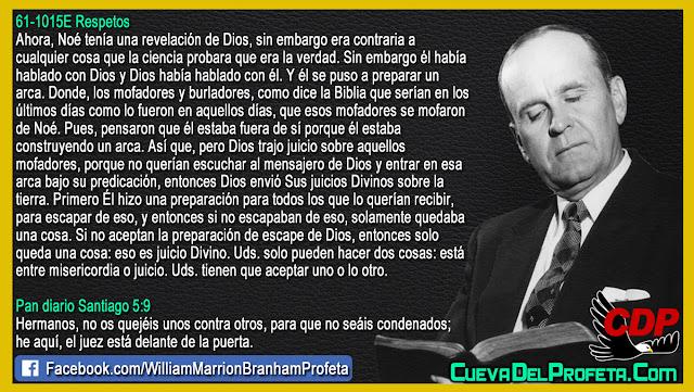 Solo queda una cosa Juicio Divino - William Branham en Español